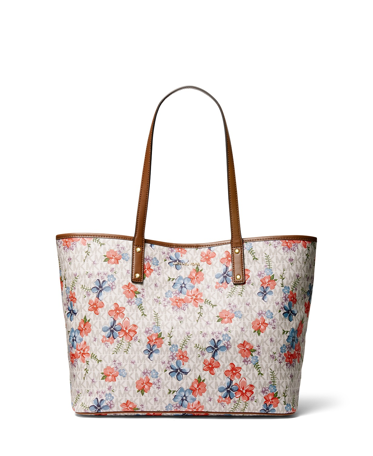 Michael Kors - Carter Large Signature Floral Tote