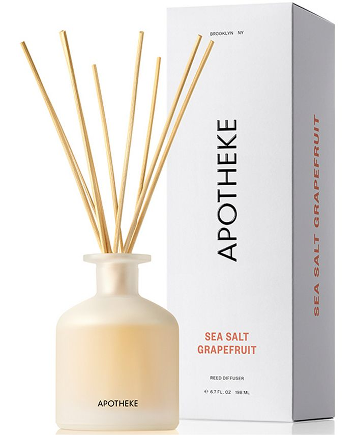 APOTHEKE - Sea Salt Grapefruit Reed Diffuser, 6.7-oz.