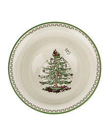 CLOSEOUT! Spode Christmas Tree Gold-tone Serving Bowl