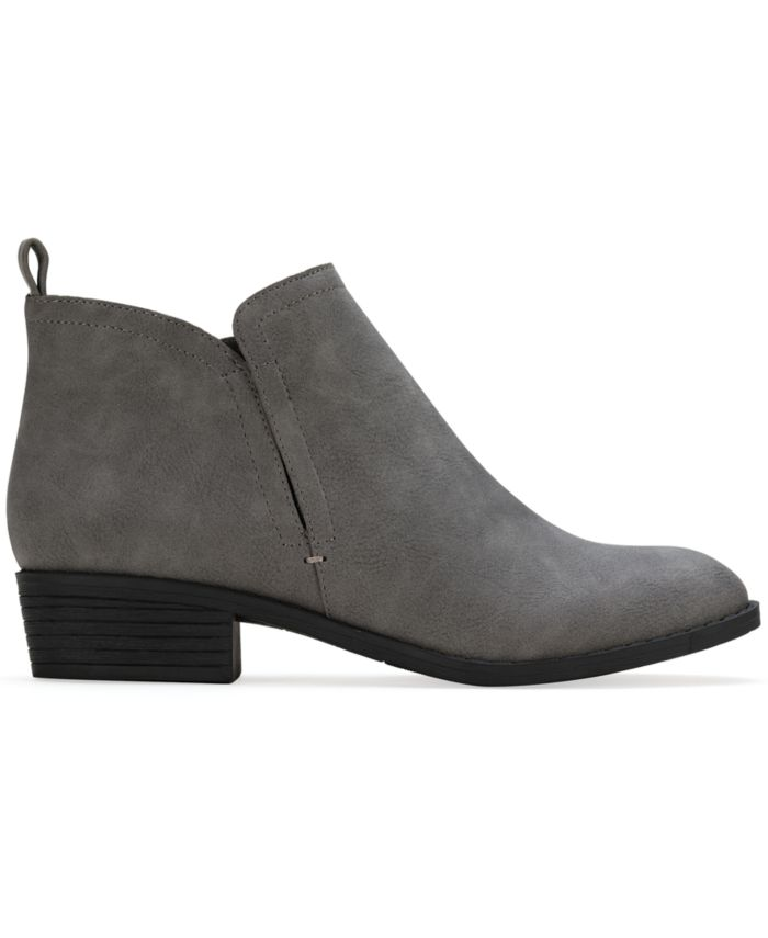 Sun + Stone Cadee Ankle Booties, Created for Macy's & Reviews - Boots - Shoes - Macy's