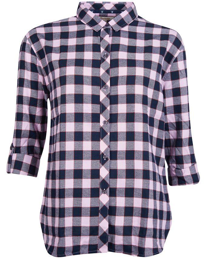 Barbour - Cassins Check Print Cotton Shirt