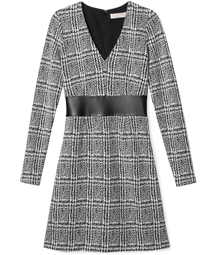 Michael Kors - Jacquard Fit & Flare Dress