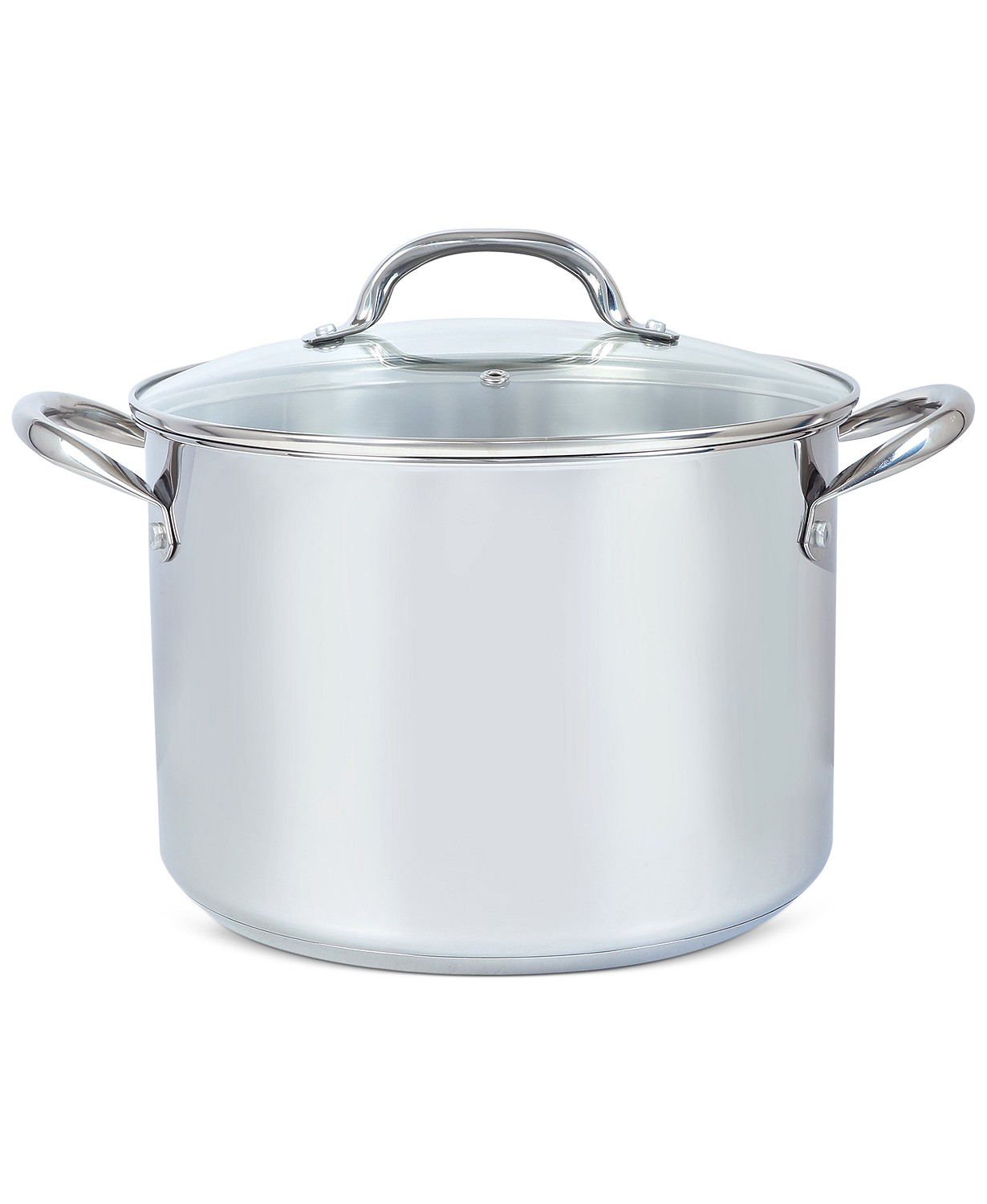 Tools of the Trade 10-Qt. Stainless Steel Stock Pot with Lid