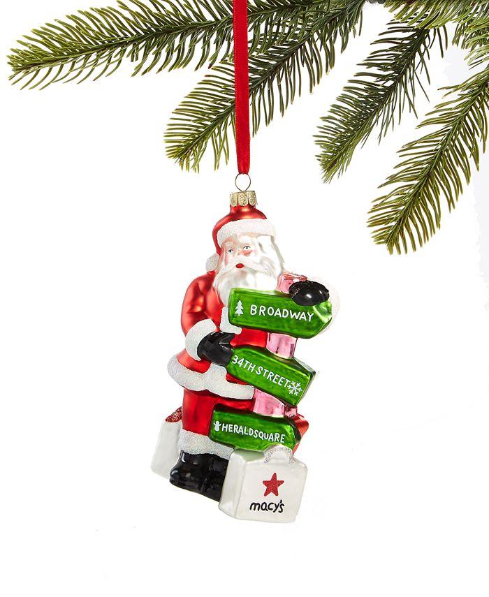 Holiday Lane - New York Santa Ornament