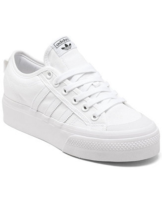 Acurrucarse Conversacional Hornear  adidas Women's Originals Nizza Platform Casual Sneakers from Finish Line &  Reviews - Finish Line Athletic Sneakers - Shoes - Macy's