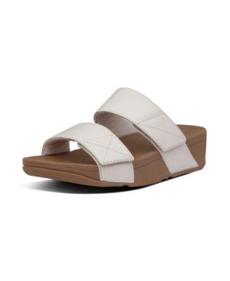 Mina Leather Slides Sandal