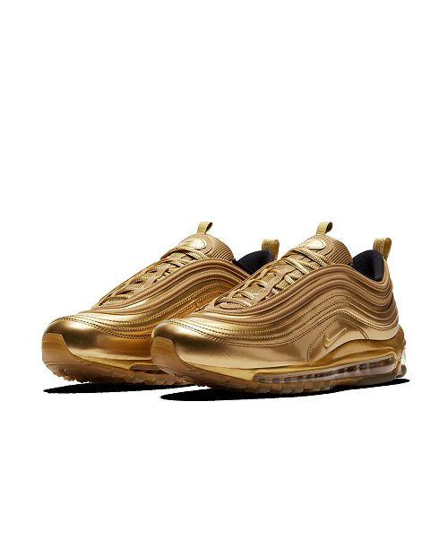 nike gold air max 97