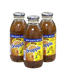 Snapple All Natural Half 'N Half Lemonade Iced Tea, 16 oz, 24 Count