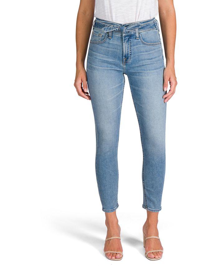 Jen7 by 7 For All Mankind - Tie-Waist Skinny Jeans