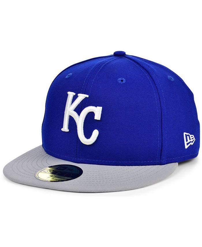 New Era - Kansas City Royals Plate Patch 59FIFTY Cap