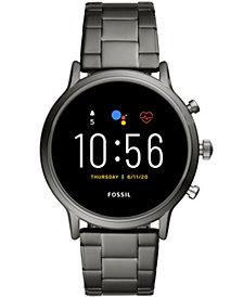 Fossil Tech Gen 5 Carlyle HR Smoke Bracelet Smart Watch 44mm, Powered by Wear OS by Google