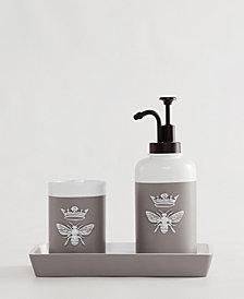 Indecor Home Bee 3-Pc. Bath Accessory Set