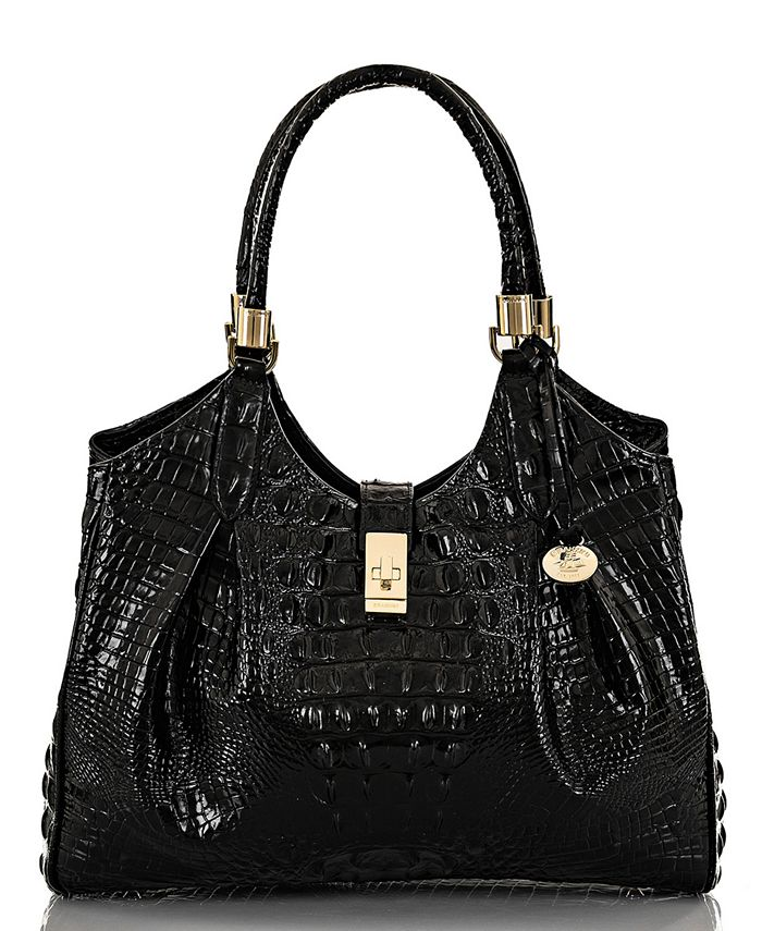 Brahmin - Melbourne Embossed Leather Celia Satchel