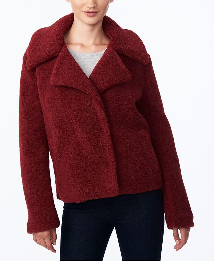 Collection B - Juniors' Faux-Fur Teddy Coat