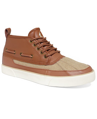 polo ralph parkstone boat sneakers shoes