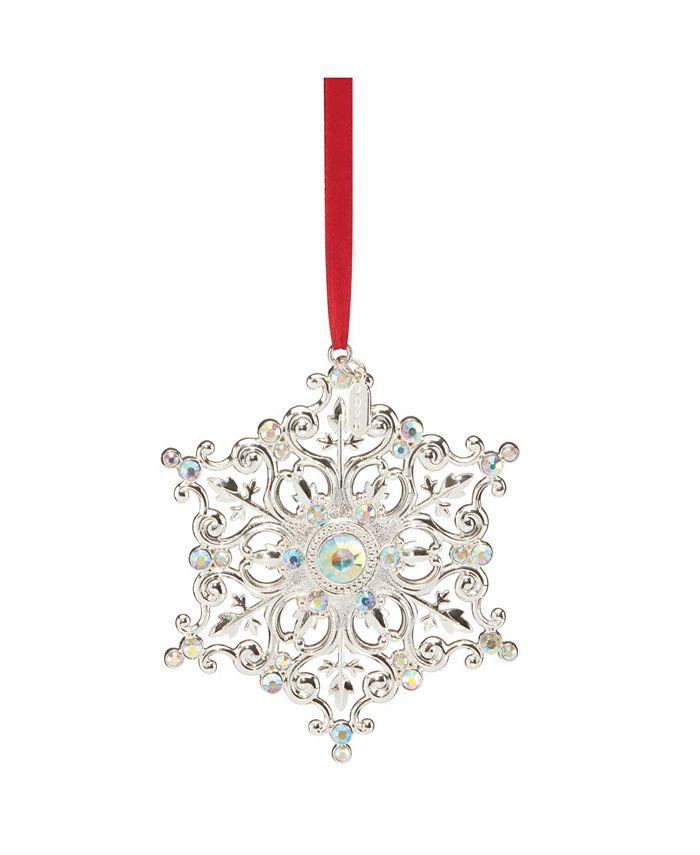 Lenox - 2020 Snow Majesty Ornament