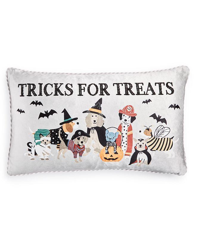 """Lacourte Tricks for Treats  14""""x 24"""" Decorative Pillow"""