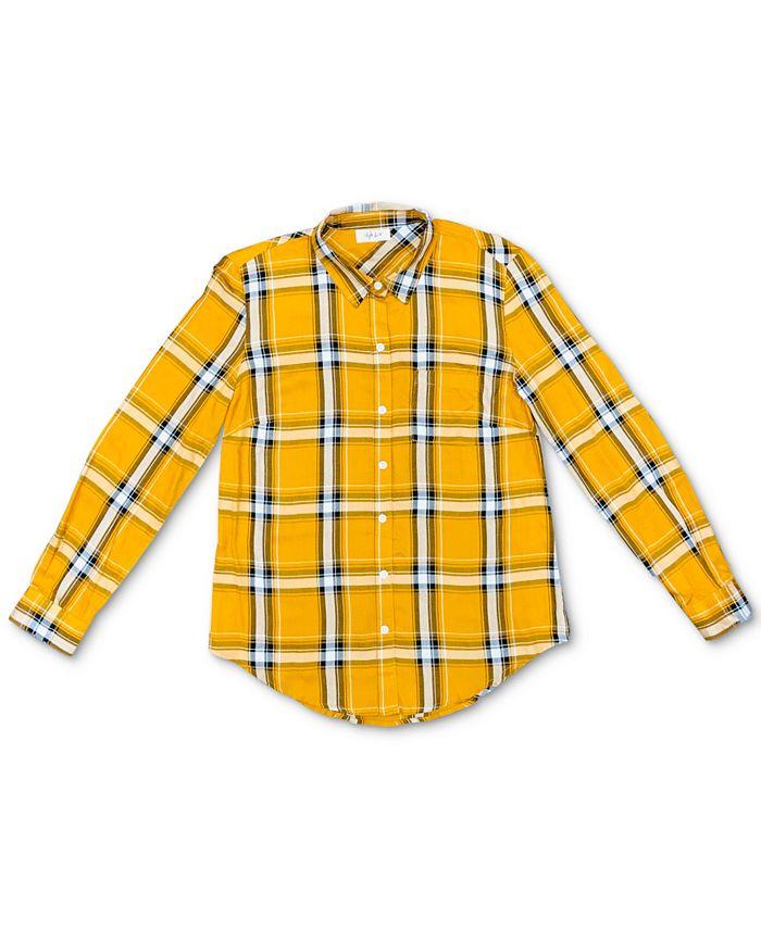 Style & Co - Petite Plaid Utility Shirt