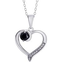 Macy's Sapphire Open Heart 18