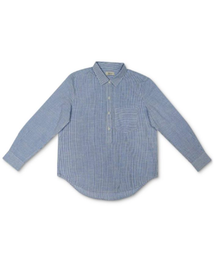 Style & Co - Cotton Popover Shirt