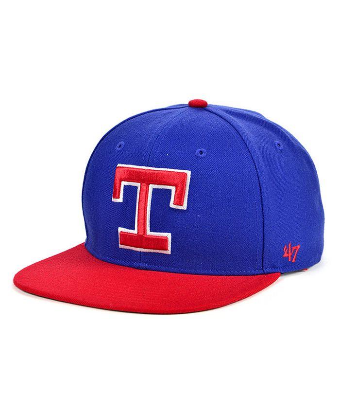 '47 Brand - Texas Rangers Coop Shot Snapback Cap