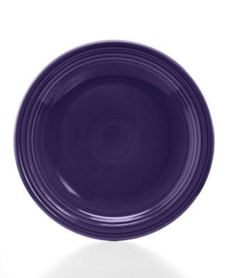 """Fiesta Plum 10.5"""" Dinner Plate"""