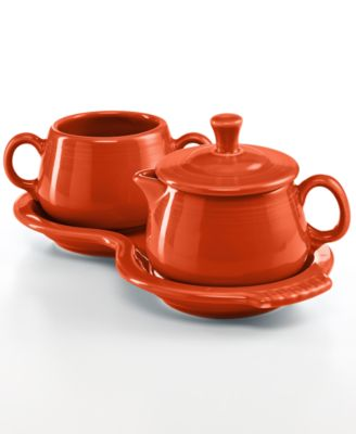 Fiesta Sugar and Creamer Set