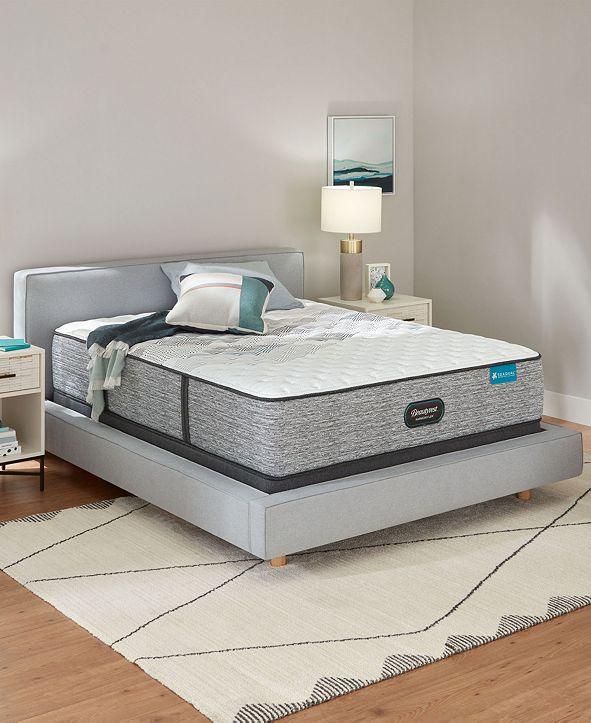 "Beautyrest Harmony Lux Carbon 12.5"" Extra Firm Mattress Set - Queen"
