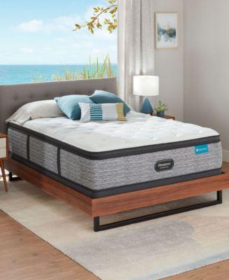 "Harmony Lux Carbon 15.75"" Medium Firm Pillow Top Mattress - Twin"