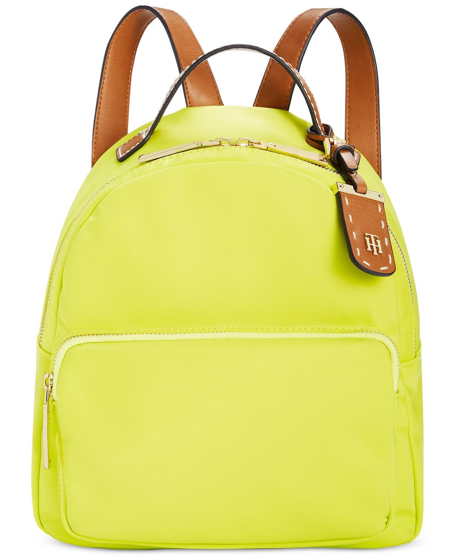 Tommy Hilfiger Julia Small Dome Backpack (Lemon Lime)