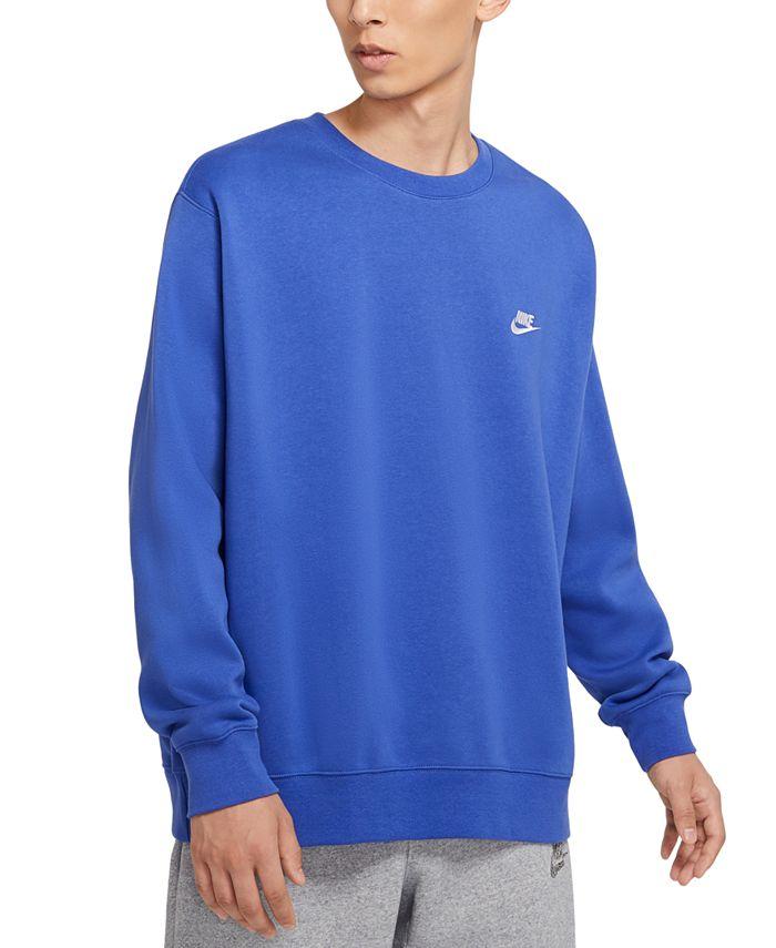 Nike - Men's Club Crew Fleece Sweatshirt