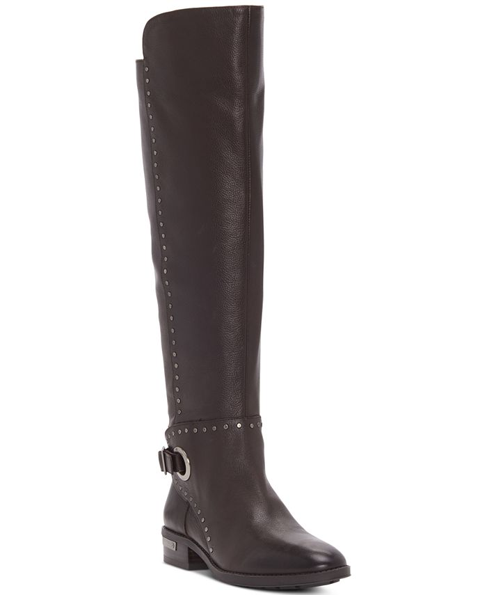 Vince Camuto - Women's Poppidal Wide-Calf Stretch Riding Boots
