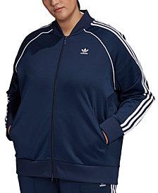 adidas Originals Plus Size Track Jacket