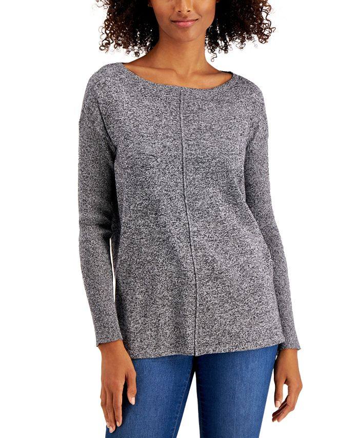 Style & Co - Seamed Cotton Tunic