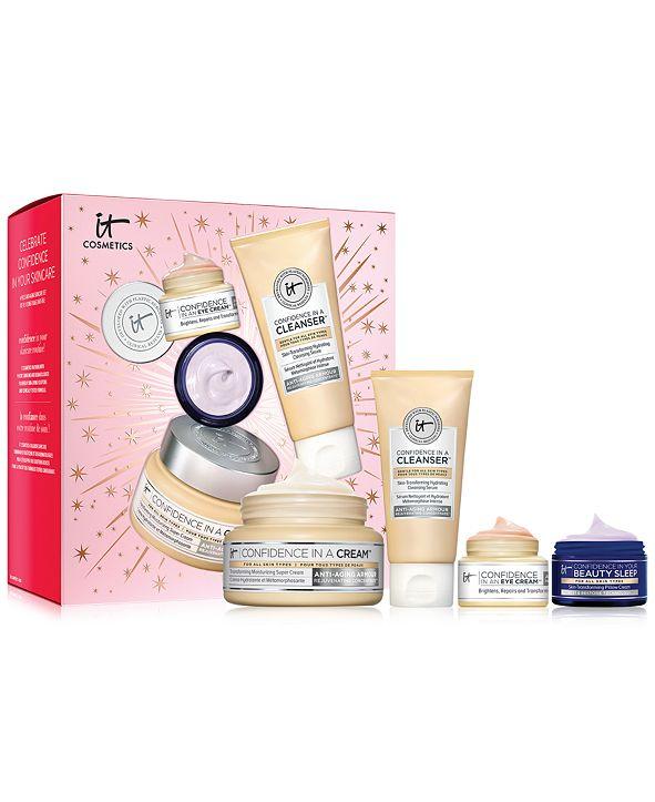 IT Cosmetics 4-Pc. Celebrate Confidence In Your Skincare Anti-Aging Skincare Set