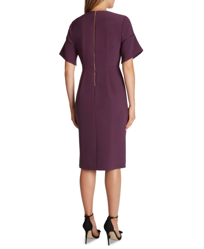 Tahari ASL Stretch Crepe Sheath Dress  & Reviews - Dresses - Women - Macy's