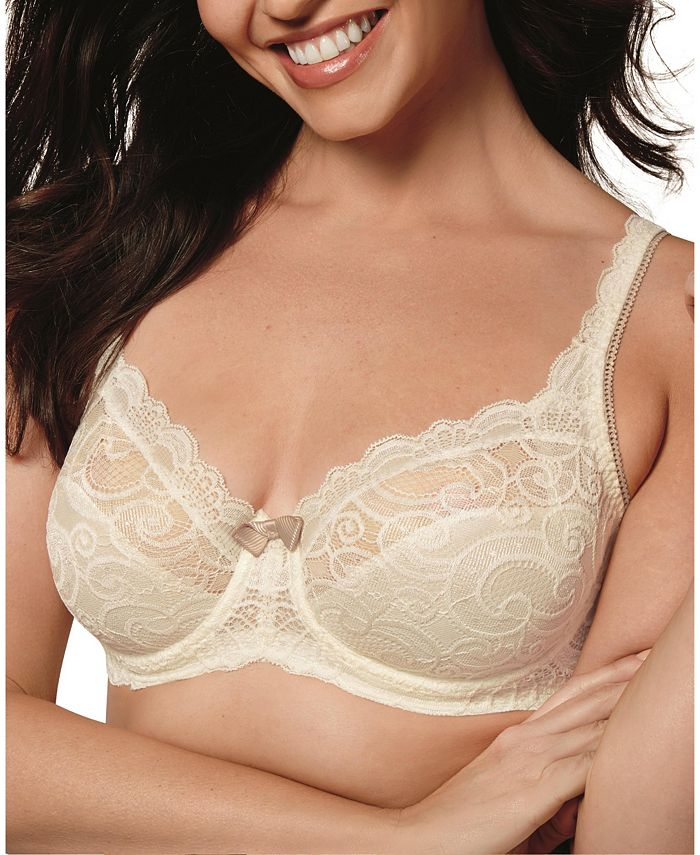 Playtex - Love My Curves Beautiful Lace & Lift Plus Size Lace Bra US4825