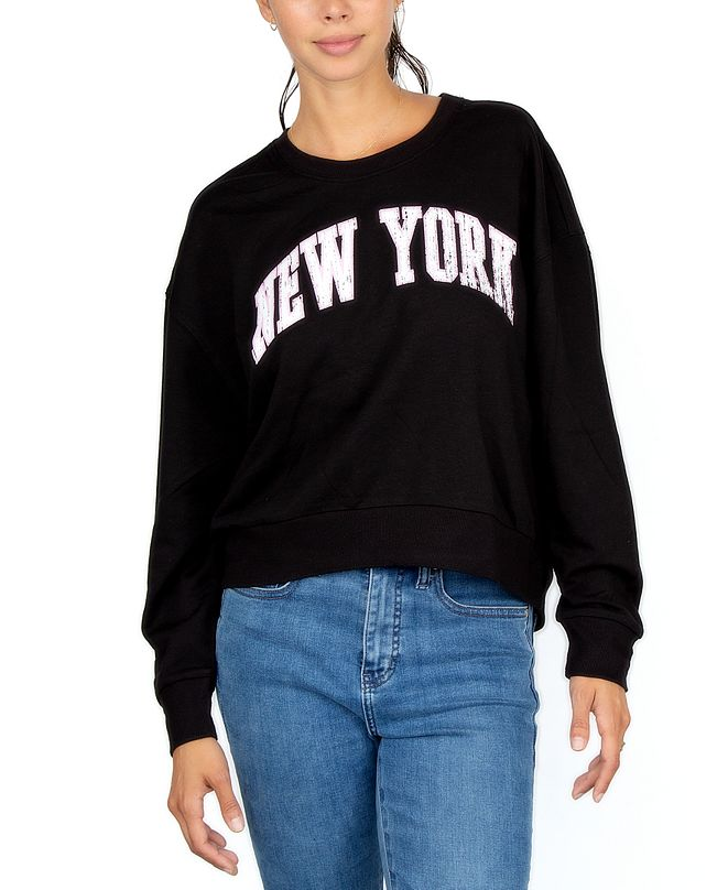 Rebellious One Juniors' New York Sweatshirt