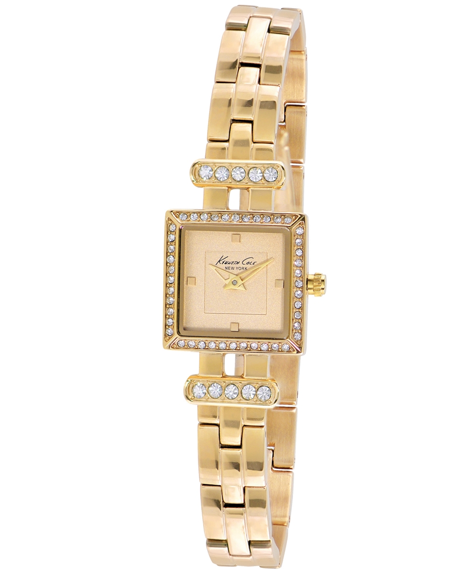 Kenneth Cole New York Watch, Womens Gold Ion Plated Stainless Steel Bracelet 20mm KC4962   Watches   Jewelry & Watches
