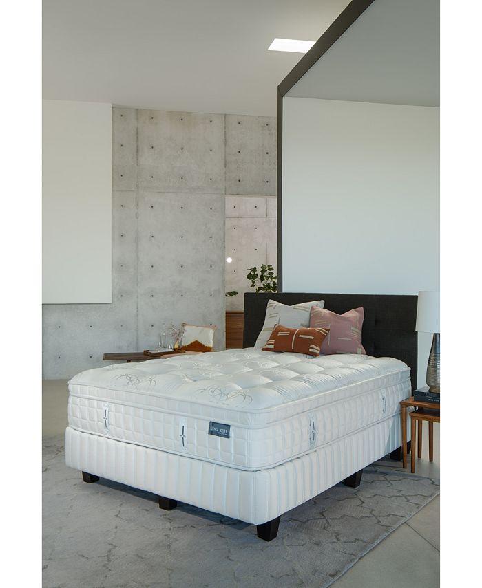"""King Koil - Marlow 14.5"""" Firm Euro Pillow Top Mattress- King"""