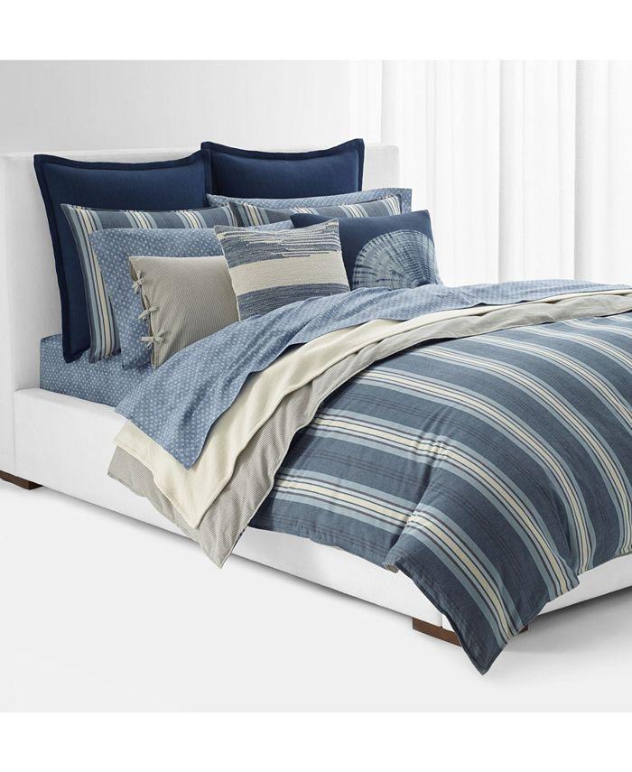 Lauren Ralph Lauren Gavin Stripe King Duvet Set Reviews Duvet Covers Bed Bath Macy S