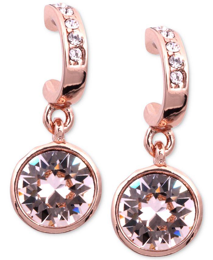 Givenchy - Earrings, Rose Gold-Tone Swarovski Silk Crystal Drop Earrings