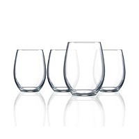 4-Set Luminarc Cachet Stemless Wine 17 Oz