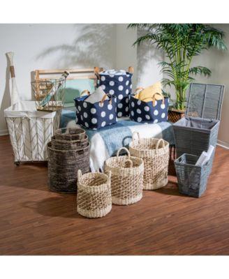 Coastal Collection 3-Pc. Nesting Storage Bin Set