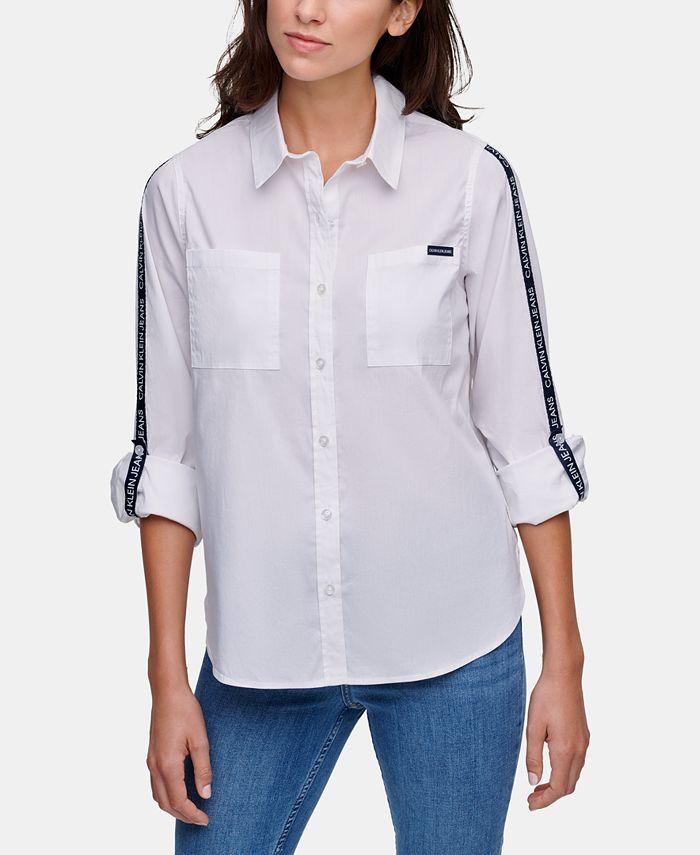 Calvin Klein Jeans - Logo-Tape Shirt