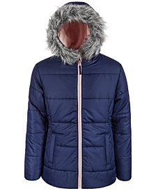 S Rothschild & CO Big Girls Quilt Puffer Coat