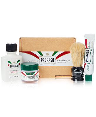 Proraso 4-Pc. Travel Shave Gift Set
