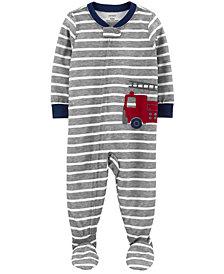 Carter's Baby Boy 1-Piece Loose Fit Footie PJs