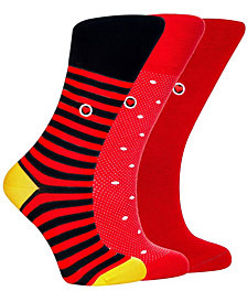 Love Sock Company Women's Organic Cotton Seamless Toe Trouser Socks, 3 Pack