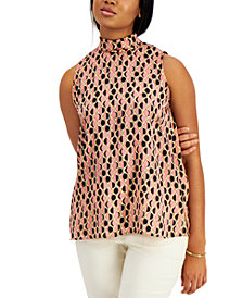 Marella Silk Printed Top